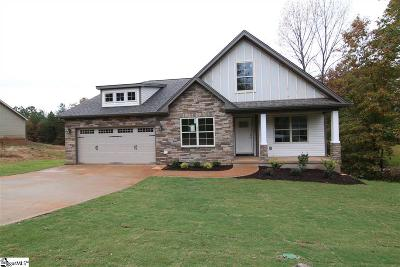 Boiling Springs Single Family Home Contingency Contract: 477 Abberly