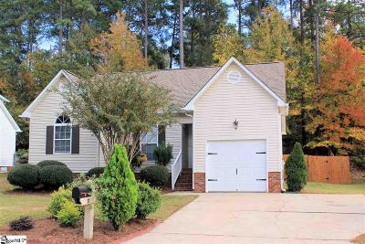Mauldin Single Family Home Contingency Contract: 11 Colombard