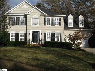 Greer Single Family Home For Sale: 452 River Way