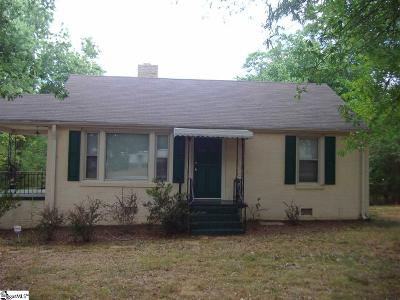 Greenville Single Family Home For Sale: 5 Eastview