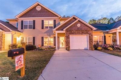 Greenville Condo/Townhouse For Sale: 144 Trailside