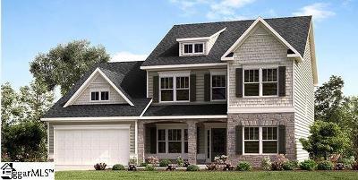 Simpsonville Single Family Home For Sale: 201 Peters Glenn
