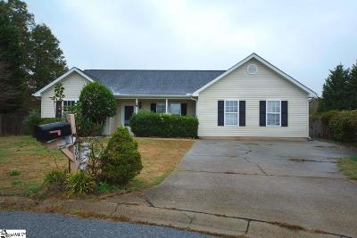 Fountain Inn Single Family Home For Sale: 206 Dexter Bend