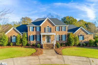 Greer Single Family Home For Sale: 401 Crepe Myrtle