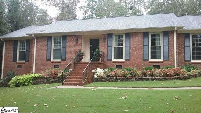 Greenville County Single Family Home For Sale: 207 Shetland