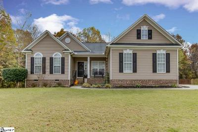 Greenville County Single Family Home Contingency Contract: 339 Amberleaf