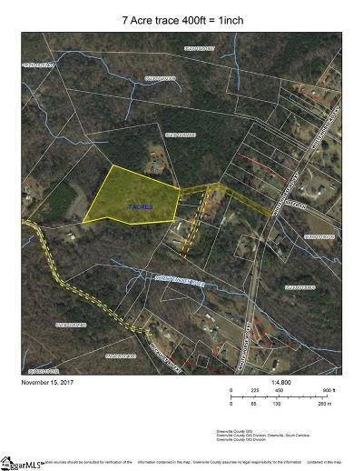 Travelers Rest Residential Lots & Land For Sale: 1287 White Horse Road