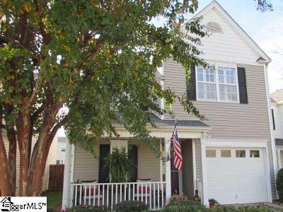 Simpsonville Single Family Home For Sale: 213 Whaleback