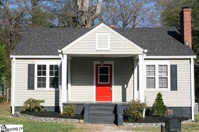 Spartanburg Single Family Home For Sale: 26 Ansel