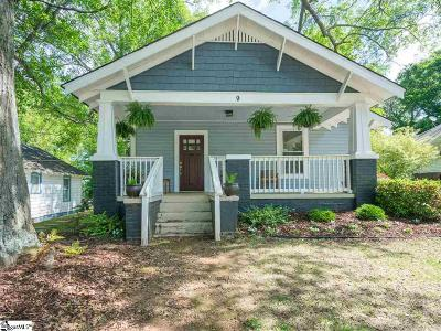 Greenville Single Family Home For Sale: 9 Beechwood