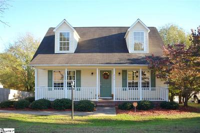 Boiling Springs Single Family Home Contingency Contract: 215 Autumn Gold