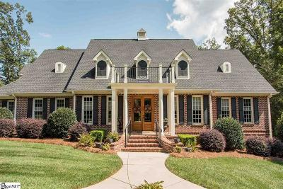 Spartanburg Single Family Home For Sale: 633 Breckenwood