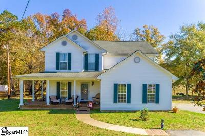 Pelzer Single Family Home Contingency Contract: 2219 Reedy Fork