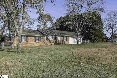 Spartanburg Single Family Home For Sale: 5003 Weitz