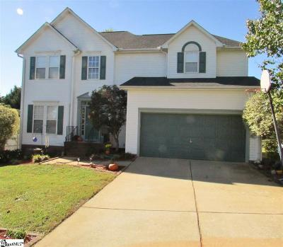Mauldin Single Family Home Contingency Contract: 104 Shearbrook