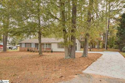 Simpsonville Single Family Home For Sale: 106 Beauclair
