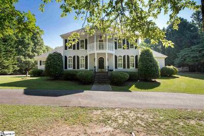 Greenville Single Family Home For Sale: 4 Overlook