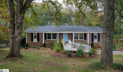 Greenville Single Family Home For Sale: 103 Verner