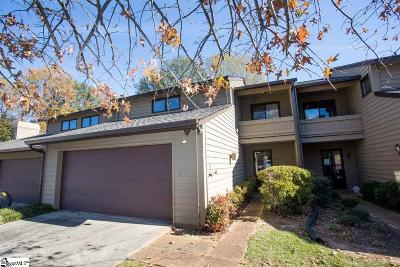Greenville County Condo/Townhouse For Sale: 425 Sparrow Hawk