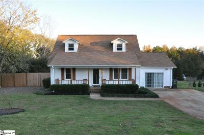 Greer Single Family Home Contingency Contract: 3104 Brushy Creek