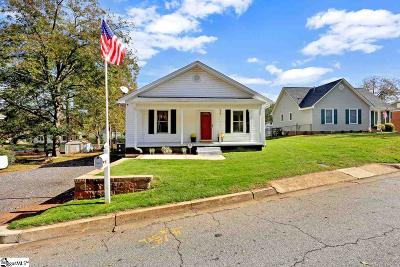 Greer Single Family Home Contingency Contract: 603 Trade