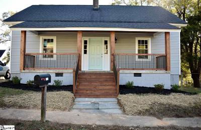 Greer Single Family Home Contingency Contract: 419 Pennsylvania