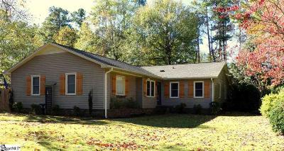 Simpsonville Single Family Home For Sale: 103 Vicksburg