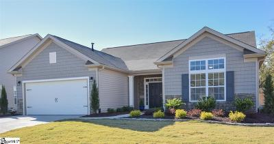 Simpsonville Single Family Home For Sale: 252 Evansdale