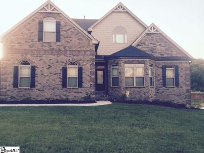 Simpsonville Single Family Home For Sale: 10 Stonoview