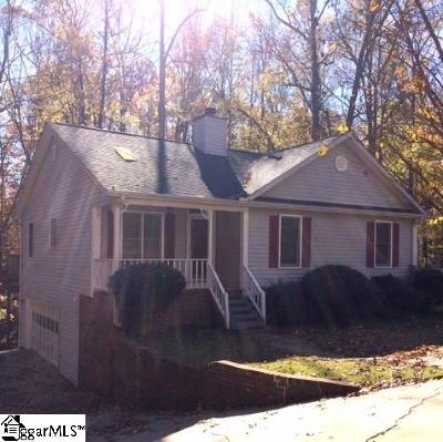 Simpsonville Single Family Home For Sale: 216 Chickamauga