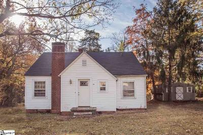 Greenville Single Family Home Contingency Contract: 306 Churchill