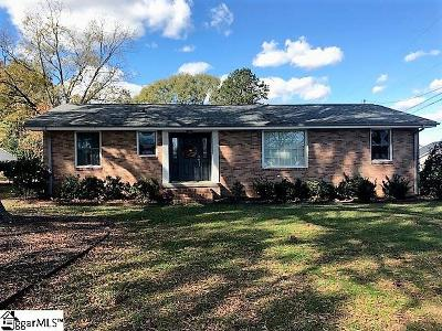 Simpsonville Single Family Home For Sale: 111 Dianne