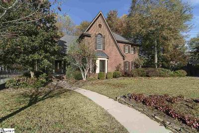 Simpsonville Single Family Home For Sale: 11 Knightsbridge