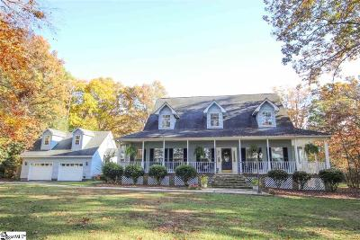 Simpsonville Single Family Home For Sale: 108 Five Forks