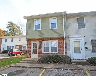 Greenville Condo/Townhouse For Sale: 61 Pine Creek Court