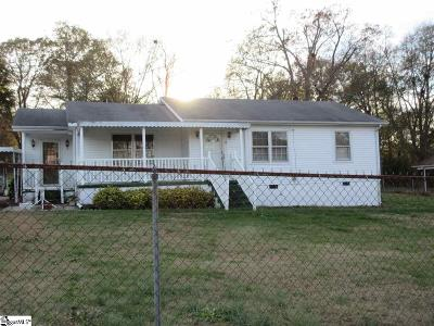 Travelers Rest Single Family Home Contingency Contract: 12 McAllister