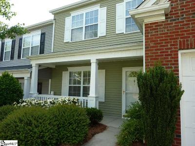 Greenville SC Condo/Townhouse For Sale: $179,900