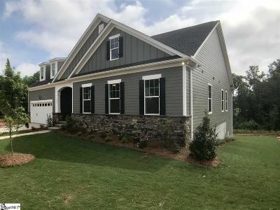 Travelers Rest Single Family Home For Sale: 608 Carilion #Lot 239