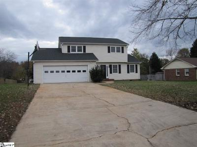 Spartanburg Single Family Home For Sale: 211 Crestline