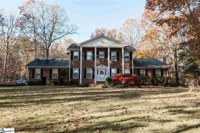 Spartanburg Single Family Home For Sale: 1231 Mount Zion