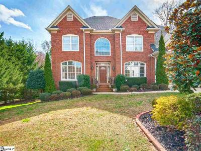 Greer SC Single Family Home For Sale: $560,000