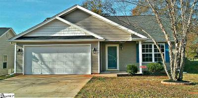Boiling Springs Single Family Home Contingency Contract: 204 Chateau