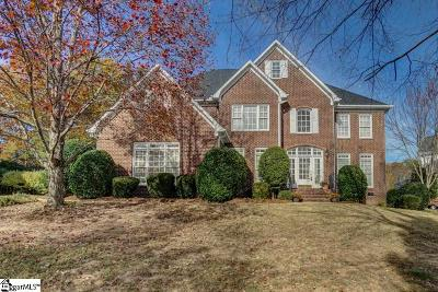 Simpsonville Single Family Home For Sale: 4 Cricken Tree