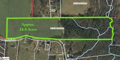 Greer Residential Lots & Land For Sale: 33377 Ridge