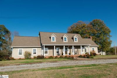 Greer Single Family Home For Sale: 3035 E Gap Creek