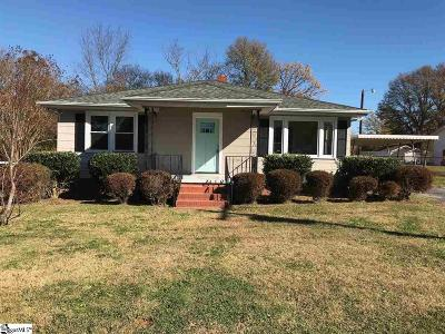 Greenville SC Single Family Home For Sale: $147,500