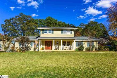 Greenville Single Family Home For Sale: 221 Buckingham