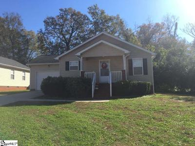 Greenville SC Single Family Home For Sale: $225,000