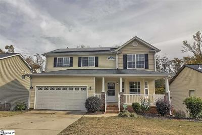 Greenville SC Single Family Home For Sale: $219,500