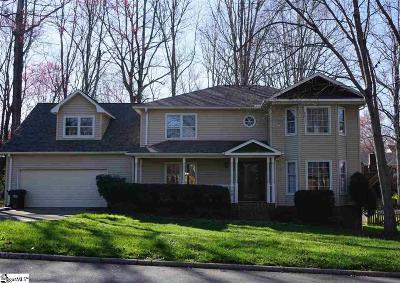 Greer Single Family Home For Sale: 105 Shefford